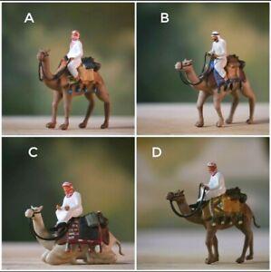 Miniature Figure Camel with Men 1/87 or 1/64 Diecast no Preiser