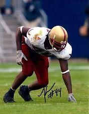 Mathias Kiwanuka Boston College Hand Signed 8x10 Photo Autographed COA
