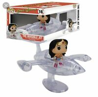 FUNKO POP DC HEROES WONDER WOMAN THE INVISIBLE JET #16 WITH FIGURE 7180 VAULTED