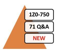Updated 1Z0-750 Exam 71 Q&A PDF File!