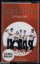WESTLIFE - UPTOWN GIRL 2001 UK CASSINGLE