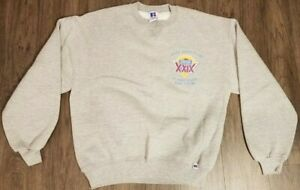 1995 Super Bowl XXIX Joe Robbie Stadium Sweatshirt - San Francisco 49ers