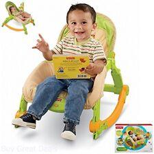 Rocker Chair Baby Newborn Swing Sleep Seat Toy Arm Rack Portable Fisher Price