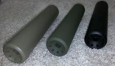 """5/8-24 Large Concave Linear """" SUPER 8 HALO """"  Muzzle Brake  (8 PORT'S) 6"""" OAL"""