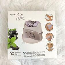 NEW IN BOX Emjoi Tilting eRase e60 Epilator Hair Removal Carrying Case White