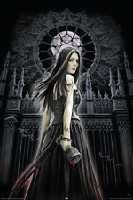 ANNE STOKES GOTHIC SIREN FANTASY WITCH POSTER (61x91cm)  PICTURE PRINT NEW ART
