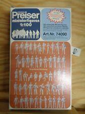190 figuras sin pintar para Fabricación de modelos Arquitectónicos Preiser 74090