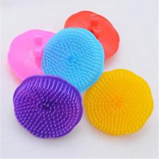 Plum Scalp Massager Anti Dandruff Shampoo Brush Head Hair Loss Prevention Comb