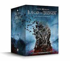 JUEGO DE TRONOS  SERIE COMPLETA DVD 1 - 8  ESPAÑOL NUEVO CASTELLANO
