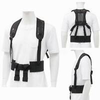 Tactical Harness Waist Battle Belt Suspenders Hunting Molle Vest Chest Rig XMAS