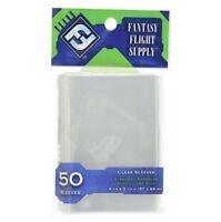 FANTASY FLIGHT Standard American Board Game Card Sleeves 57 x 89mm 50ct FFG