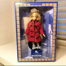 Barbie BURBERRY BLUE LABEL Doll Red Coat London Collaboration Limited Japan used