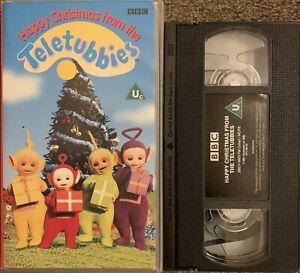 Happy Christmas from the TELETUBBIES - VHS Video/BBC VIDEO BBCV6603.