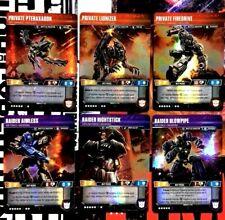 6 UT Battle Master Transformers Wave 3 Siege Private Pteraxadon Raider TCG NM