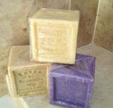 French soap, savon de marseille, 300g cube, olive oil soap, natural, lavender