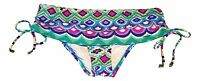 Apt 9 Swim Womens Size XS S M L XL Tribal Hipster Fold Over Bikini Bottoms NEW