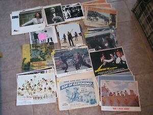 Lobby card picture lot vintage movies pictures