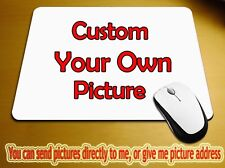 Custom Printed Mouse Pad Your Photo, logo, design Add more send your Own Image