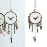 Feather Dream Catcher Car Interior Handmade Dreamcatcher Hanging U1Y1 Decor D3I8