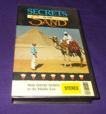 SECRETS IN THE SAND MIDDLE EAST DOCUMENTARY VHS DAVID DOWN ADVENTIST MEDIA VIDEO
