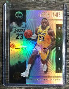 2019-20 Panini Illusions Lebron James Basketball Card