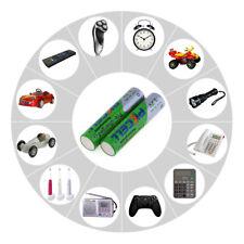 2 x AAA 950 mAh reales Baterías Recargables 1.2v Bateria Pilas NH AAA NiMh 175