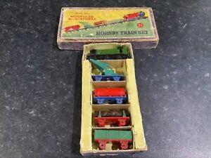 Dinky Toys Prewar Hornby Series Modelled Miniatures Train Set 21