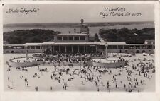 ROMANIA - Constanta - Plaja Mamaia din Avion - Photo Postcard 1938