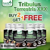 6 xTRIBULUS TESTO ANABOLIC STRONGEST LEGAL TESTOSTERON MUSCLE BOOSTER TRIBULUS