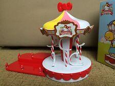Sanrio Hello Kitty Rainbow Playground Carousel from 7-11
