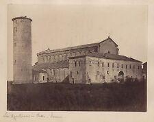 Saint-Apollinaire in Classe Ravenna Italie Italia Vintage albumine ca 1880