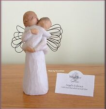 ANGEL'S EMBRACE WITH TODDLER FROM WILLOW TREE® ANGELS FREE U.S. SHIPPING