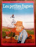 Les petites fugues - Yves YERSIN / Michel ROBIN / Fred PERSONNE - Affiche Cinéma