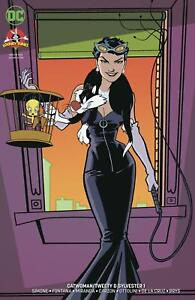 Catwoman Tweety & Sylvester Special #1 Cover B Variant Sandy Jarrell Cover