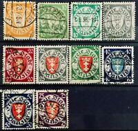 1924-1933>DANZIG>Coat of Arms>Used,CV$32.48.