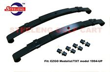Heavy Duty Rear Leaf Springs for EZGO TXT 1996-2013 Golf Cart (Set of 2)