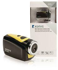 Konig HD Action Camera 720p 5 Megapixel Waterproof Housing
