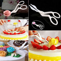 2Pcs Cake Flower Stand Scissors Piping Nozzle Baking Cupcake Pastry Bakery Tools