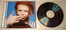 SIMPLY RED : MAN AND WOMEN CD Album 1987   Ex.