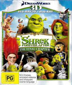 Shrek Forever After The Final Chapter (3D Blu-ray/Blu-ray) Region B