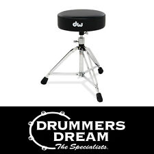 DW 5000 Series Drum Throne Stool Round Top with oversized nut DWCP5100