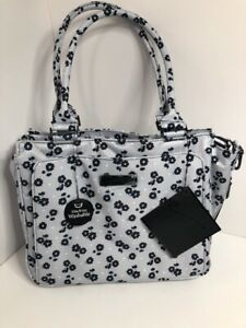 Ju-Ju-Be Be Classy Black Beauty Floral Diaper Bag NWT