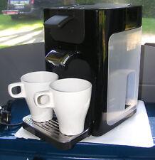 Senseo HD7863 *Quadrante* Kaffeepadmaschine in Schwarz / Braun mit 2 Padhalter