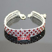 Dog Collars Alloy Diamond necklace dogs Puppy Pet Cat Collars adjustable Leashes