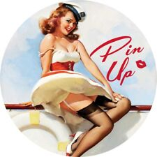 Pin Up Girl  Hot Rat Rod Stickers Vintage Classic Car Decals Sexy Retro look 012
