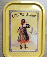 Chicorée Leroux Plateau Service Email French Vintage Firmin Bouisset Ecoliere