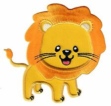 Lion Iron On Embroidered Applique Patch - Kids / Baby / PatchMommy®
