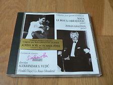 Maya Le Roux Obradovic : Concertos pour guitare - Vujic, Krajisnik - CD
