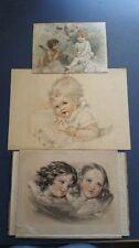 Lithograph Vintage Children & Infants Art Prints