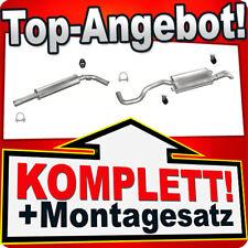 SEAT CORDOBA IBIZA 1.4 75//100PS 2002-2005 Mitteltopf Auspuff+